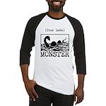 DIY Lake Monster! Baseball Jersey