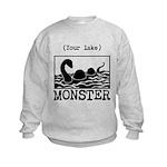 DIY Lake Monster! Sweatshirt