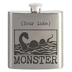 DIY Lake Monster! Flask