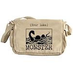 DIY Lake Monster! Messenger Bag