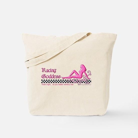 RaceFashion.com GODDESS Tote Bag