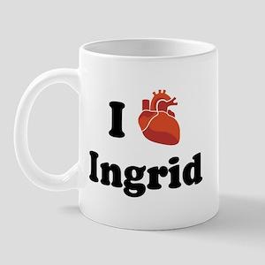 I (Heart) Ingrid Mug