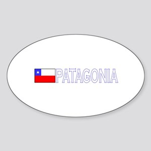 Patagonia, Chile Oval Sticker