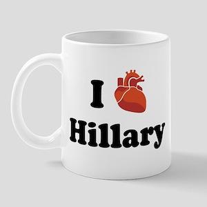 I (Heart) Hillary Mug