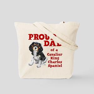 CAVALIER DAD (both sides) Tote Bag