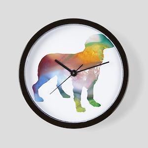 Brittany Spaniel Wall Clock