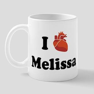 I (Heart) Melissa Mug