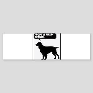 Adopt a Field Spaniel Bumper Sticker