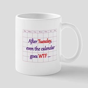 Calendar quote Mugs