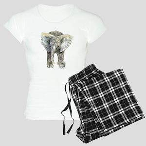 Front & Back Baby Elephant Pajamas