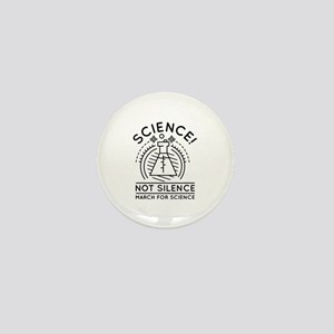 Science Not Silence Mini Button