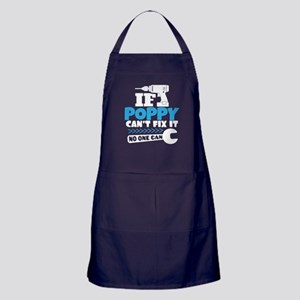 If Poppy Can't Fix It No One Can Apron (dark)