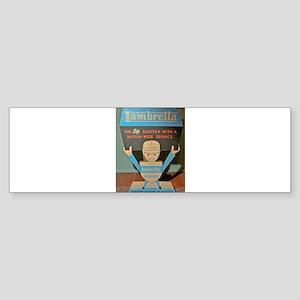 LAMBRETTA DEALER Bumper Sticker