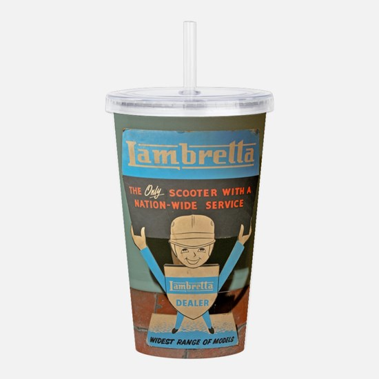 LAMBRETTA DEALER Acrylic Double-wall Tumbler