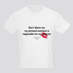 Don't Blame Me Baby Apparel Kids Light T-Shirt