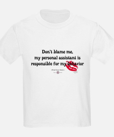 Don't Blame Me Baby Apparel T-Shirt
