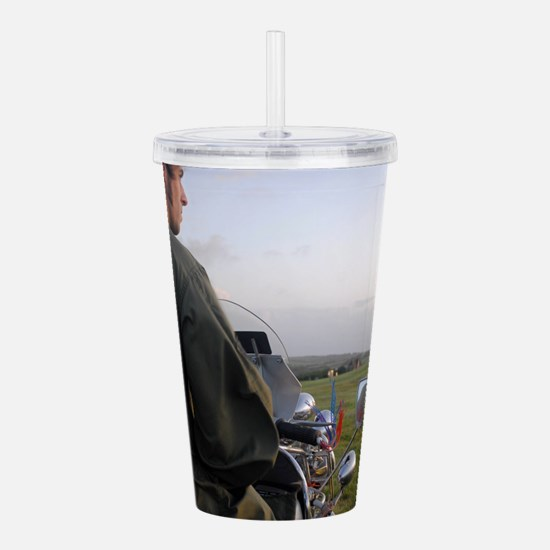 VESPA PRETTY GREEN , M Acrylic Double-wall Tumbler