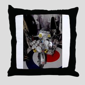 GS SCOOTER MOD Throw Pillow