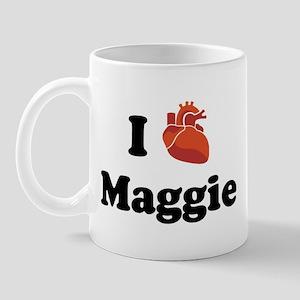 I (Heart) Maggie Mug