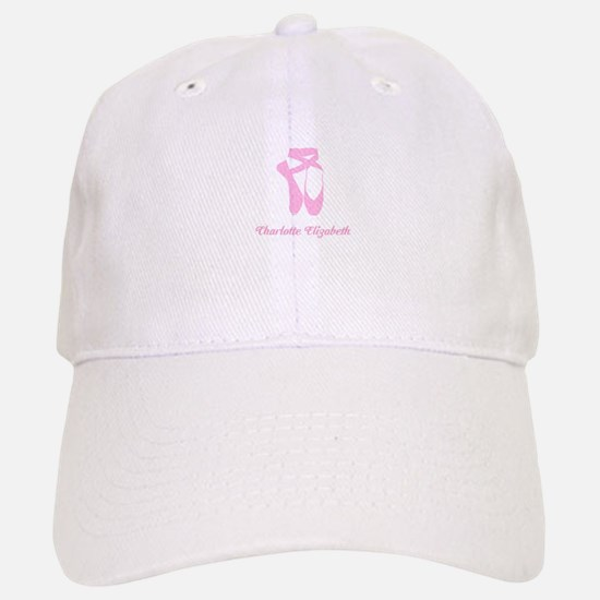 Team Pointe Ballet Candy Curls Personalize Baseball Baseball Cap