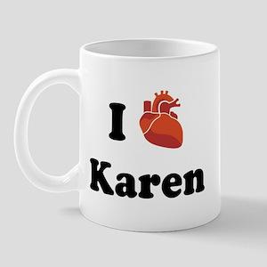 I (Heart) Karen Mug