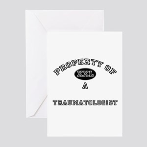Property of a Traumatologist Greeting Cards (Pk of