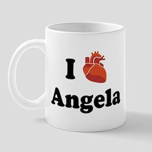 I (Heart) Angela Mug