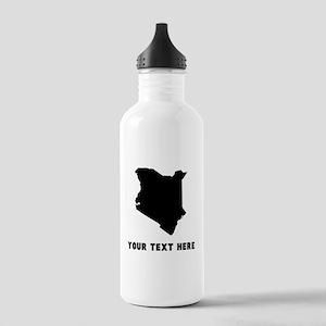 Kenya Silhouette (Custom) Water Bottle