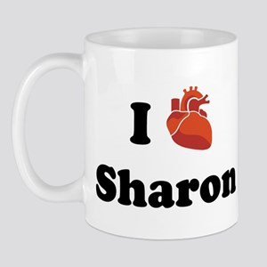 I (Heart) Sharon Mug