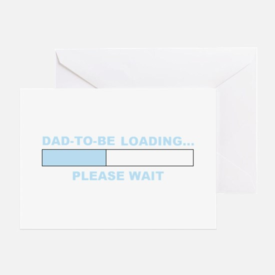 DAD-TO-BE LOADING... Greeting Card