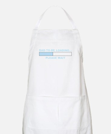 DAD-TO-BE LOADING... BBQ Apron