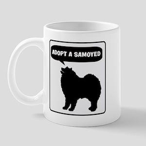 Adopt a Samoyed Mug