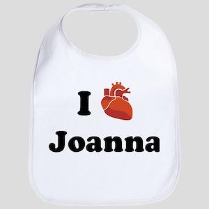 I (Heart) Joanna Bib