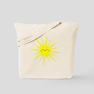Happy Sun Tote Bag