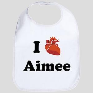 I (Heart) Aimee Bib