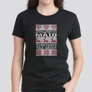 Merry Christmas From Maid Everybody Talks T-Shirt