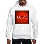 Love Red Hooded Sweatshirt