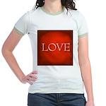 Love Red Jr. Ringer T-Shirt