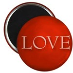 Love Red Magnet