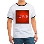 Love Red Ringer T