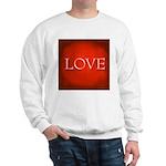 Love Red Sweatshirt