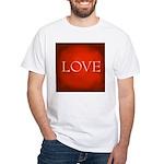 Love Red White T-Shirt