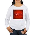Love Red Women's Long Sleeve T-Shirt