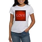 Love Red Women's Classic White T-Shirt