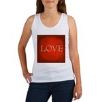 Love Red Women's Tank Top