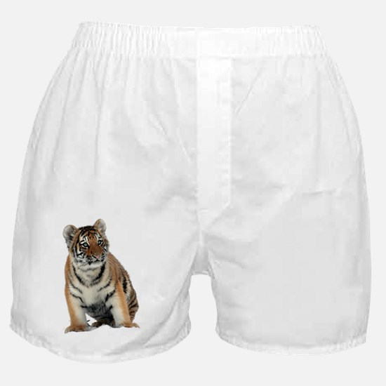 Cute White background Boxer Shorts