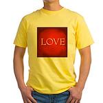 Love Red Yellow T-Shirt