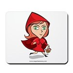 Red Riding Mousepad