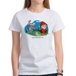 Red Riding Women's Classic White T-Shirt