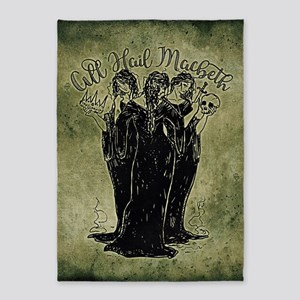 Witches All Hail Macbeth 5'x7'Area Rug